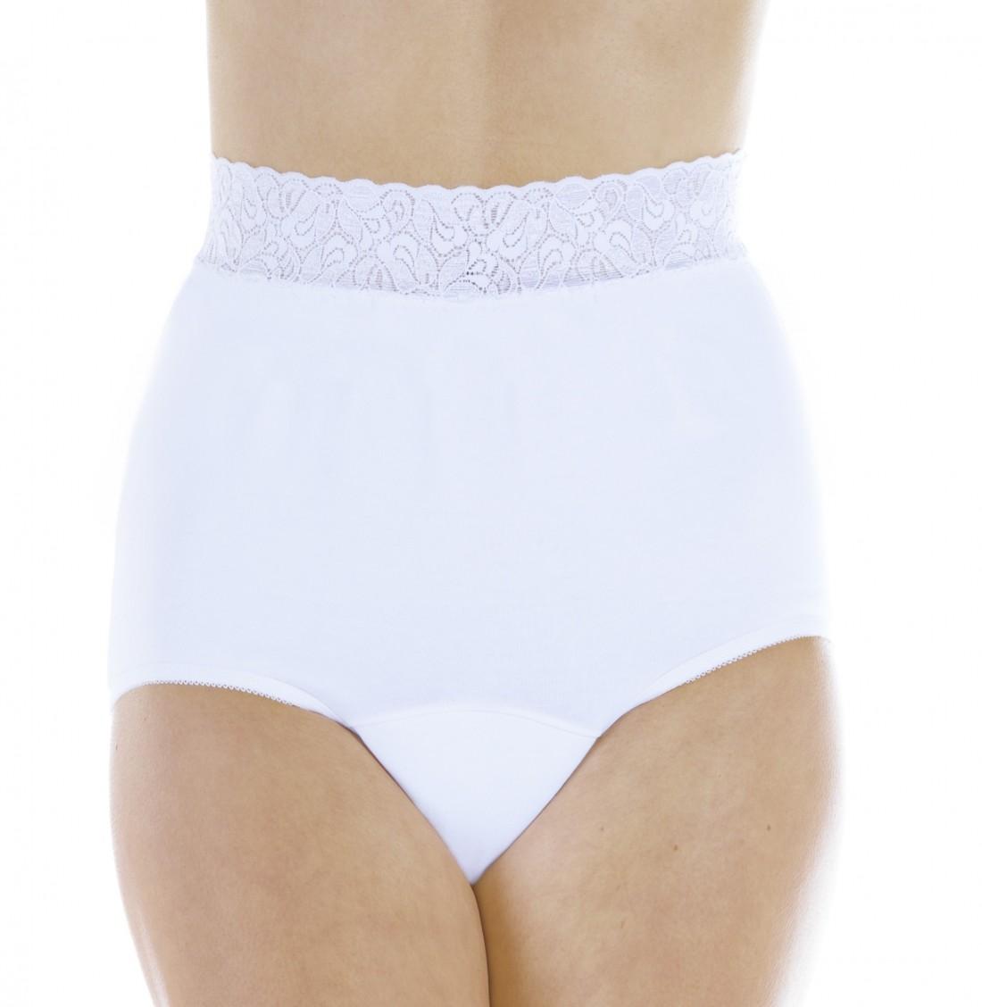 Lace Trim Panties - Wearever L10 - Regular Absorbency