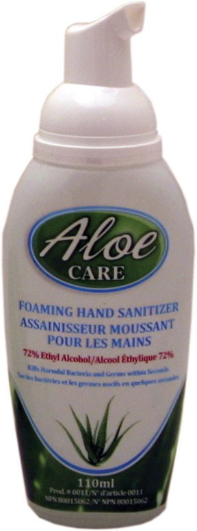 Aloe-Care Foaming Alcohol Hand Sanitizer 110ml