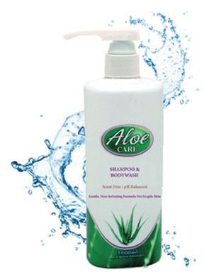 Aloe-Care Scent Free Shampoo & Bodywash