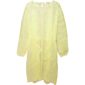 Disposable Isolation Gown - Yellow