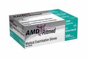 Vinyl Powder-Free Gloves, Small, Case
