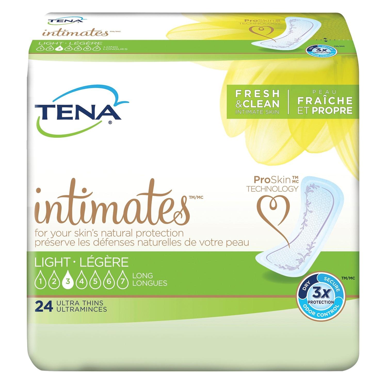 TENA® Active Ultra Thin Pads, Long