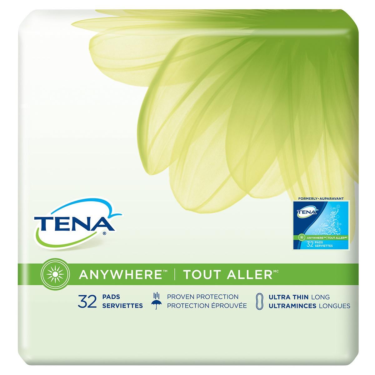 TENA® Anywhere™ Ultra Thin Pads - Long