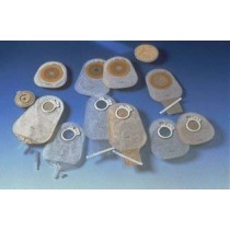 CENTRE-POINT-LOCK 2-PIECE OSTOMY DRAINABLE POUCH TRANSPARENT 57MM