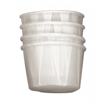 Medicine Cup, Paper, Pleated Sides, 22ml