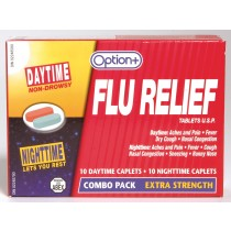 OPTION+ FLU RELIEF CAPS 10 DAY & 10 NIGHT