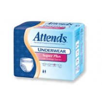 ATTENDS PROTECTIVE UNDERWEAR EXTRA-ABSORBENCY EXTRA-LARGE 14 PER PRINTED PACKAGE