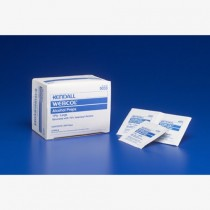 Webcol Alcohol Prep Wipes, Medium