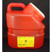 BD™ Sharps Disposal Container, Red, 10.3L