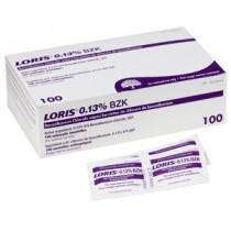 Benzalkonium Chloride (BZK) Alcohol Free Towelette, 100/Box