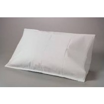 "PILLOWCASE 21"" X 30"" DISPOSABLE 2PLY TISSUE/POLY CONSTRUCTION"