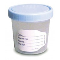 Polypropylene Labelled Specimen Container