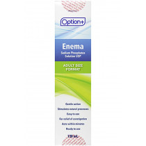 Option+ Enema Sodium Phosphates Solution - Adult   130 ml