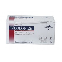 Neolon 2G Powder-Free Surgical Gloves, Size 8.0