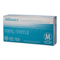 GLOVE VINYL POWDER-FREE MEDIUM  50 PAIRS