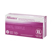 GLOVE VINYL POWDER-FREE EXTRA LARGE 50 PAIRS