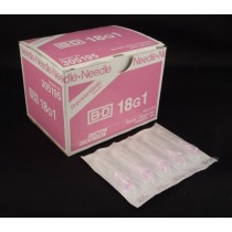 """Needle Only - BD 305195, 18g x 1"""""""