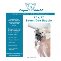 LiquaShield moisture barrier - 10″ x 10″, 7″ x 10″ and 7″ x 7″ sizes
