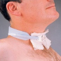 "Foam Tracheostomy Tie, Adolescent, Neck - 9"" to 14"""