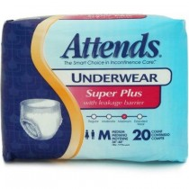 Attends Super Plus Absorbency Protective Underwear - Small