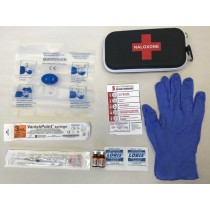 Naloxone Take Home Injectable (THN) Kit WITH DRUG Completely Assembled