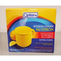 OPTION+ HOT LEMON COLD&FLU EXTRA STRENGTH