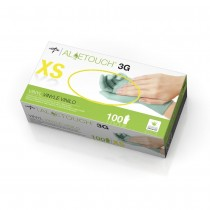 Aloetouch 3G Powder-Free Synthetic Exam Gloves, XS