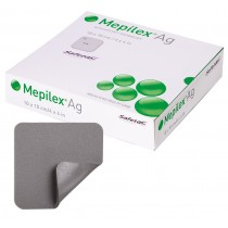 Mepilex® Ag Antimicrobial Dressing - 10 x 10 cm