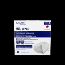 95PFE Particulate Mask Respirators, MLL-1970E (Box of 30) MADE IN CANADA!
