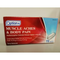OPTION+ MUSCLE ACHE & BODY PAIN