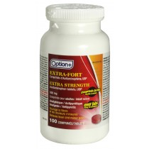 OPTION+ ACETAMINOPHEN EXTRA STRENGTH EASY TABS 500MG