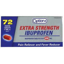 OPTION+ IBUPROFEN 400MG