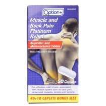 OPTION+ MUSCLE & BACK PLATINUM RELIEF