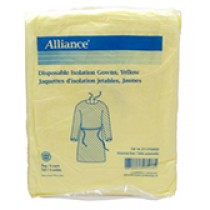 ISOLATION GOWN DISPOSABLE UNIVERSAL SIZE  LATEX-FREE