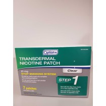 OPTION+ PATCH NICOTINE CLEAR STEP 1