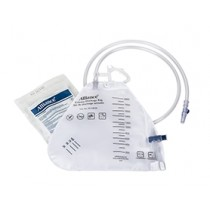 Urinary Drainage Bag with Anti-Flux Valve