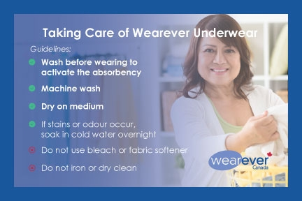 Wash before wearing. Machine wash, dry on medium. No bleach or fabric softener. Soak in cold water overnight if stains and odours. Do not iron or dry clean.