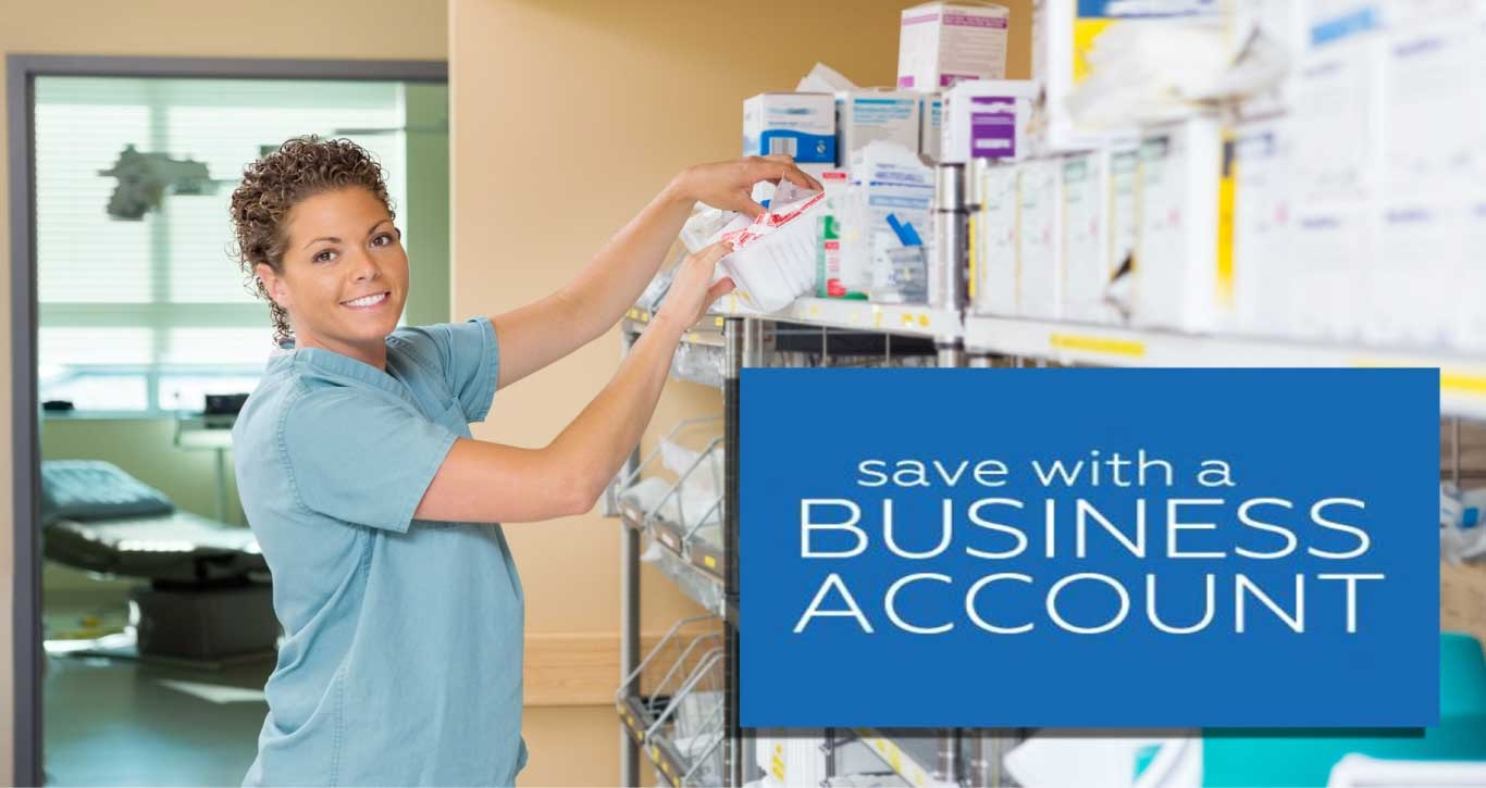 Save with a Business Account